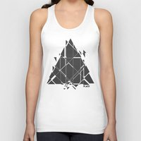 deadmau5 Tank Tops featuring PLACE Triangle V2 by Sitchko Igor