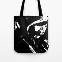 green arrow Tote Bags featuring Arrow by Seth House