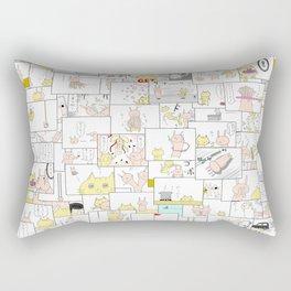 4KOMA-MATSURI Rectangular Pillow