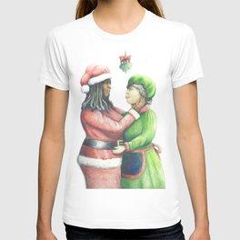 Anyone can be Santa T-shirt