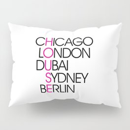 Worldwide House EDM Quote Pillow Sham