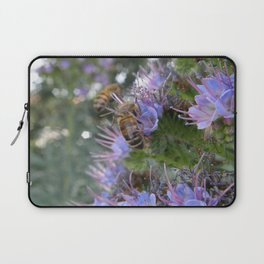 Bees on Buddleia Laptop Sleeve