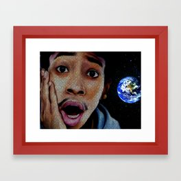 Oh Snap Framed Art Print