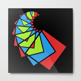 moving squares -14b- Metal Print