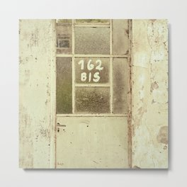 Old facade - Set 1 Metal Print