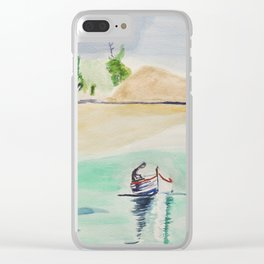 Lagon Clear iPhone Case