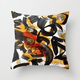 Sonata Number Ten - Coda Throw Pillow
