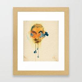 Mingadigm | Hear Me Framed Art Print