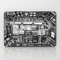 cabin iPad Cases featuring Lost cabin 666 by Marcelo Romero