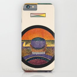 Application of Charles Henry's Chromatic Circle iPhone Case