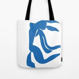Matisse Cut Out Figure #4 Light Blue Tote Bag