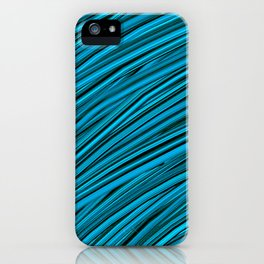 Blades of Grass Blue and Green iPhone Case