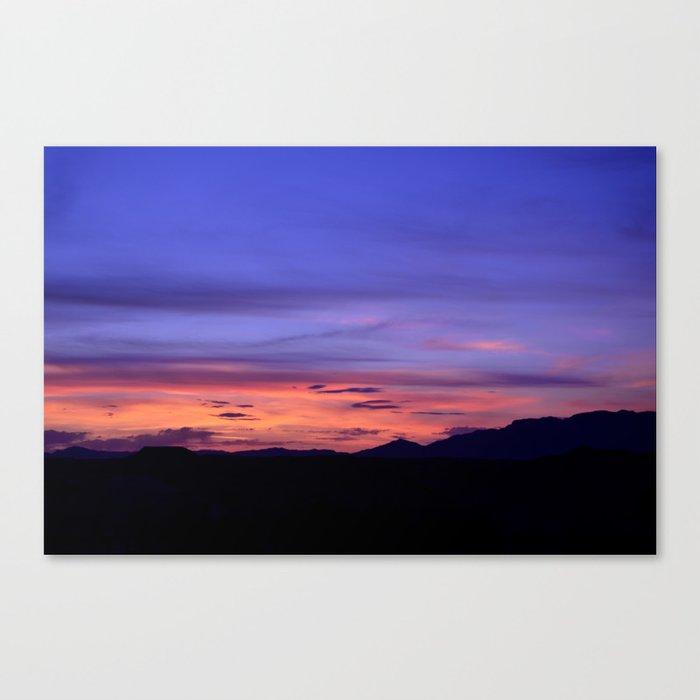 Southwest Sunrise Canvas Print