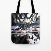 sonic Tote Bags featuring Sonic by Subcon