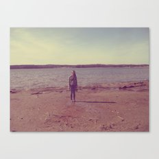 A Day at the Lake Canvas Print
