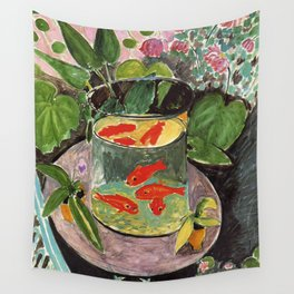 Henri Matisse Goldfish 1911, Goldfishes Artwork, Men, Women, Youth Wall Tapestry