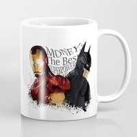 punisher Mugs featuring Money: the best superpower by Vickn