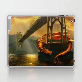 The Dragon of the St Johns Bridge Laptop & iPad Skin