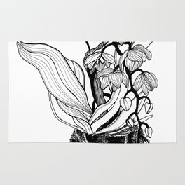 Orchid Kokedama Nr. 2 Rug