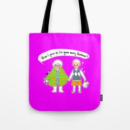 Newt and Herms Tote Bag