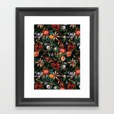NIGHT-GARDEN-XXIV Framed Art Print