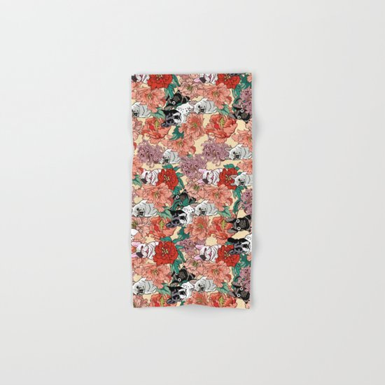 French Bullbloom Hand & Bath Towel