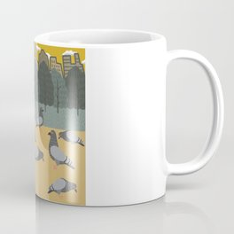 Pigeons Day Out Coffee Mug