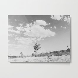 CLOUDS IV / Joshua Tree, CA Metal Print