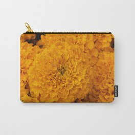 Golden Marigold Flowers Close up Carry-All Pouch