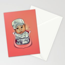Y's Baby Crest Stationery Cards