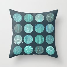 CELESTIAL BODIES - MIDNIGHT Throw Pillow