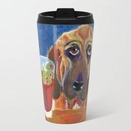 Hair of the Dog, an Animal Spirits painting  Travel Mug