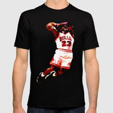 MJ Mens Fitted Tee Black SMALL