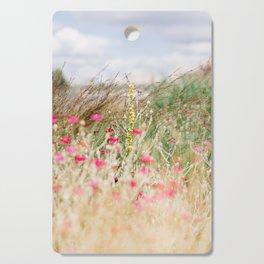 Aquarelle dreams of nature Cutting Board