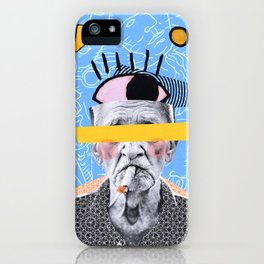 Old Man Trippin iPhone Case