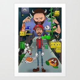 Mario Maker World Championships Art Print