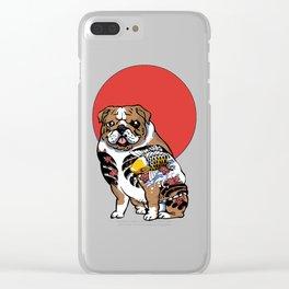 Yakuza English Bulldog Clear iPhone Case