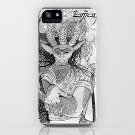 """Eh?"" ~ The Satyr Oarsman At Market iPhone Case"
