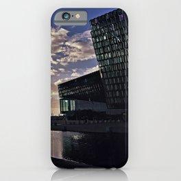 Harpa Concert Hall in Reykjavík, Iceland (3) iPhone Case