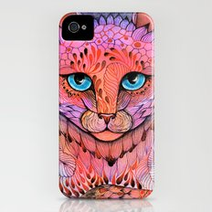 SUNSET CAT iPhone (4, 4s) Slim Case