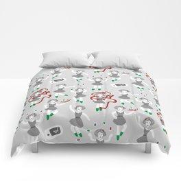 Evil Smartphones Pattern Comforters