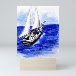 Sailing Away Mini Art Print