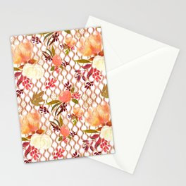Lovely Floral Pattern Stationery Cards