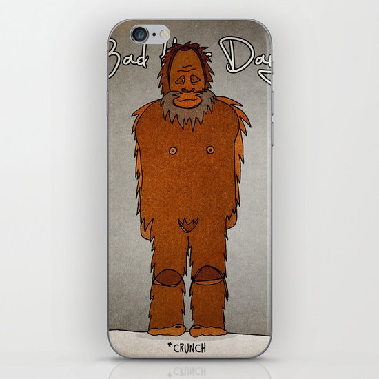 bad hair day no:4 / Bigfoot iPhone & iPod Skin