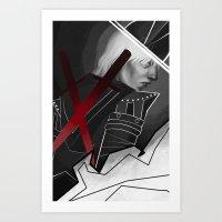 Dragon Age Cole  Art Print