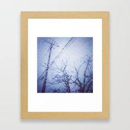 'Winter's Youth' Framed Art Print