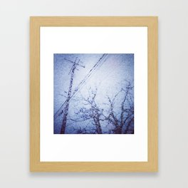 'Winter's Youth' Framed Art Print