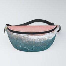 Turquoise Sea Pastel Beach II Fanny Pack