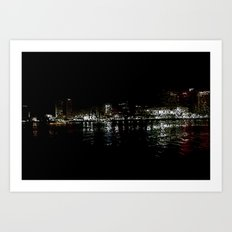 nola ferry view Art Print