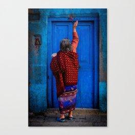 Tika Doorway Canvas Print